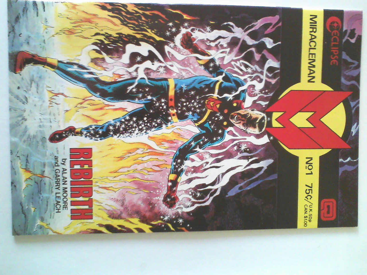 Miracleman #1-NM #2 1st print  by Alan Moore
