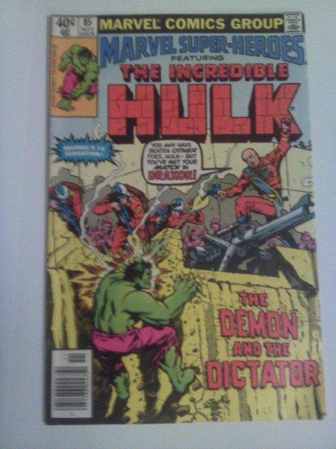 Marvel Super-Heroes Incredible Hulk #85 Reprint by Roy Thomas/Herb Trimpe