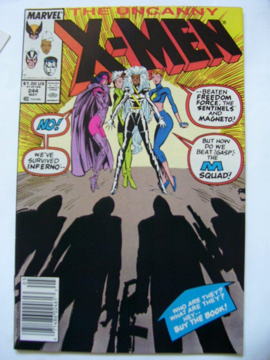 about   Uncanny X-men #244 1st Appearance of Jubilee,#269,232