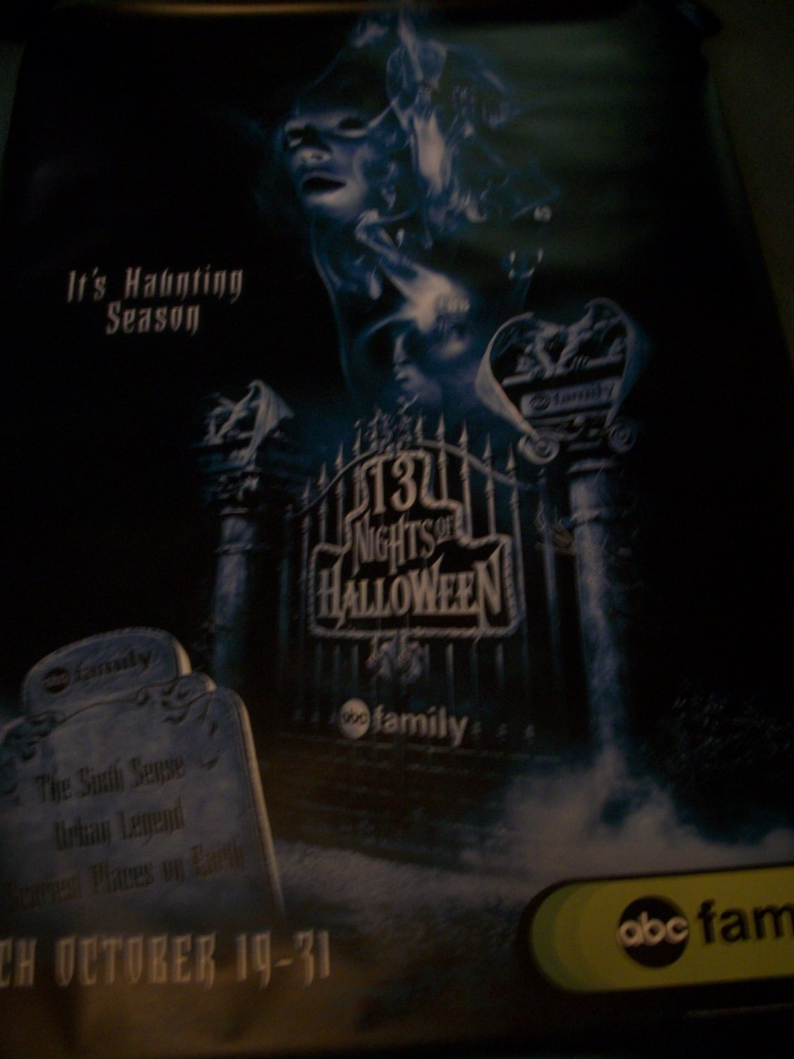 13 Nights of Halloween Tv Show Poster Approx. 48 X 69