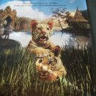 Two Brothers ( Tigers) Original Movie Poster Approx. 48 X 69