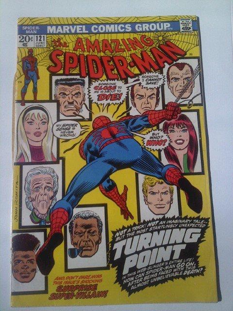 Amazing Spider-man #42,43 1st MJ full app.#121 Death of Gwen,#136 1st Goblin 2