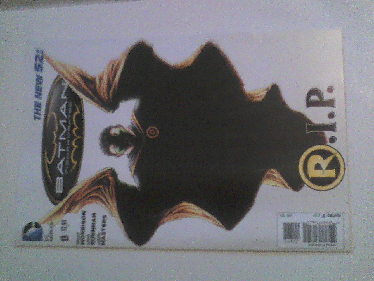 Damian Wayne's Death/Requiem Batman #18 Batman Incorporated #8