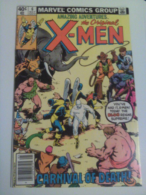 Amazing Adventure X-men #6 Reprint 2nd Blob Appearance by Stan Lee/ Jack Kirby