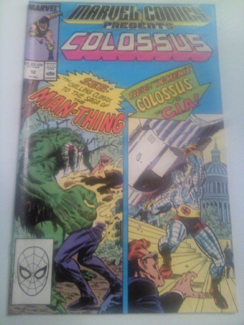 Marvel Comics Presents #12 Colossus/Manthing/Hercules/Namorita