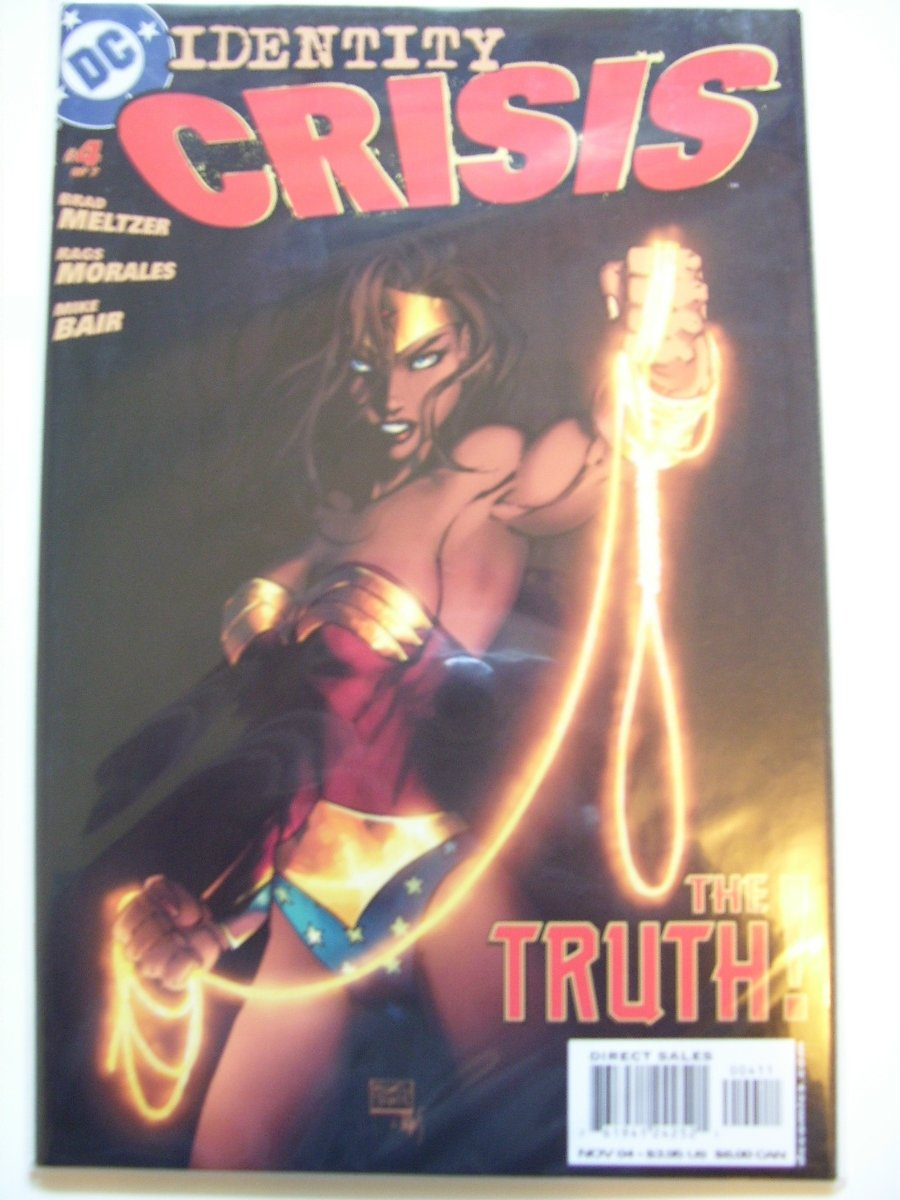 Identity Crisis #4 The Truth! One of the Biggest Events!