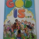 God is..1973 Bronze Kiddie Christian comic