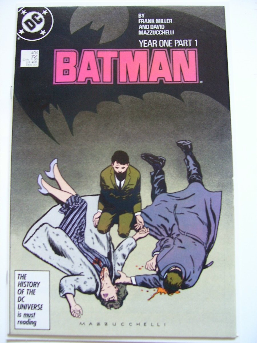 Batman #404 Year One pt1 by Frank Miller Origin, 1st new Catwoman