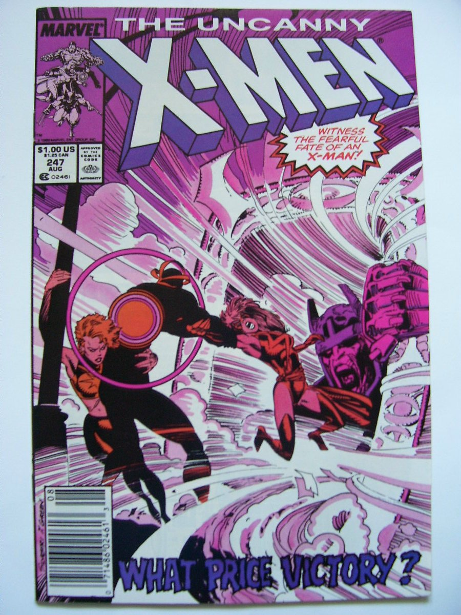 Uncanny X-men #247 Witness the fearful fate of an X-man;The light that failed