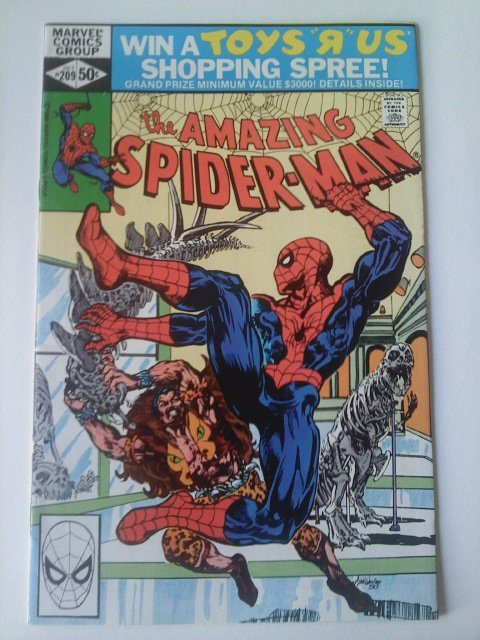 Amazing Spiderman #209 Vs Kraven The Hunter,1st & origin appearance of Calypso