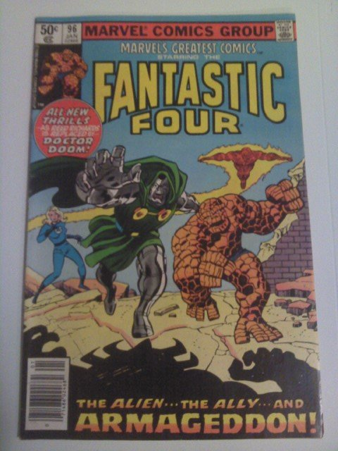 Marvel's Greatest Comics Fantastic Four #96-VG Reprint Stan Lee/Archie Goodwin