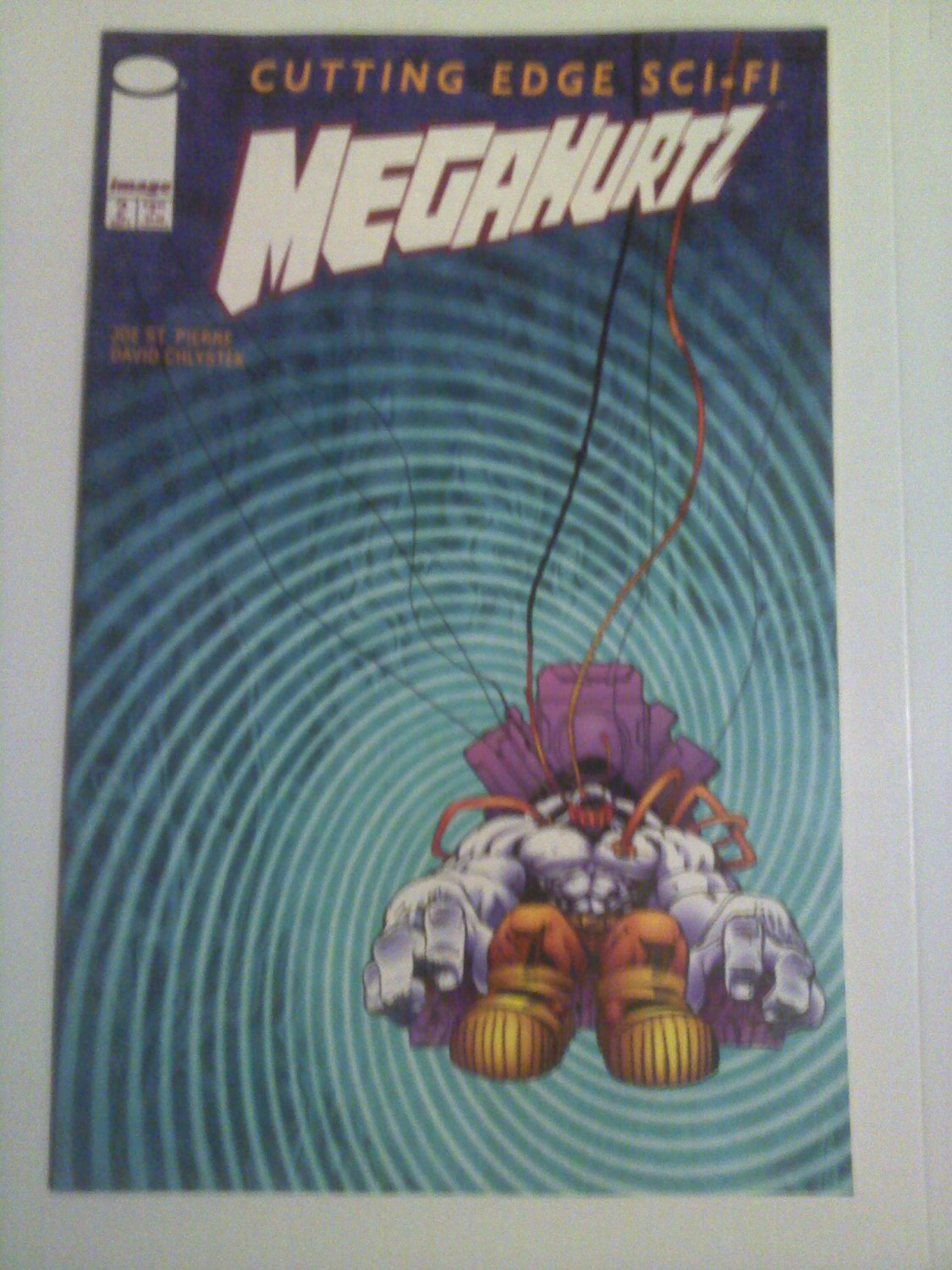 Megahurtz #2 Cutting Edge Sci-Fi