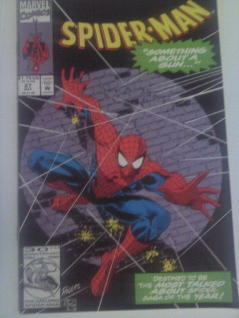 Spiderman #27 Something About a Gun!