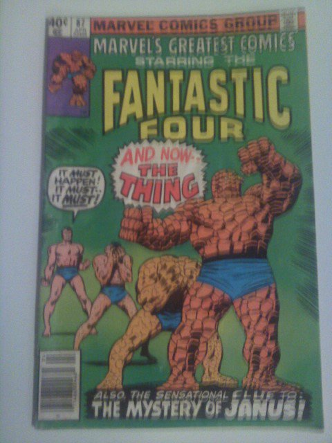 Marvel's Greatest Comics Fantastic Four #87 by Legendary Stan Lee/John Buscema