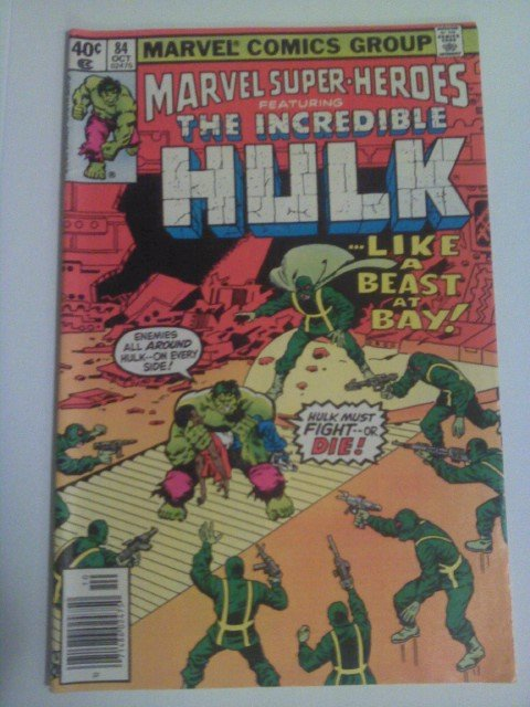 Marvel Super-Heroes Incredible Hulk #84 Reprint by Roy Thomas/Herb Trimpe