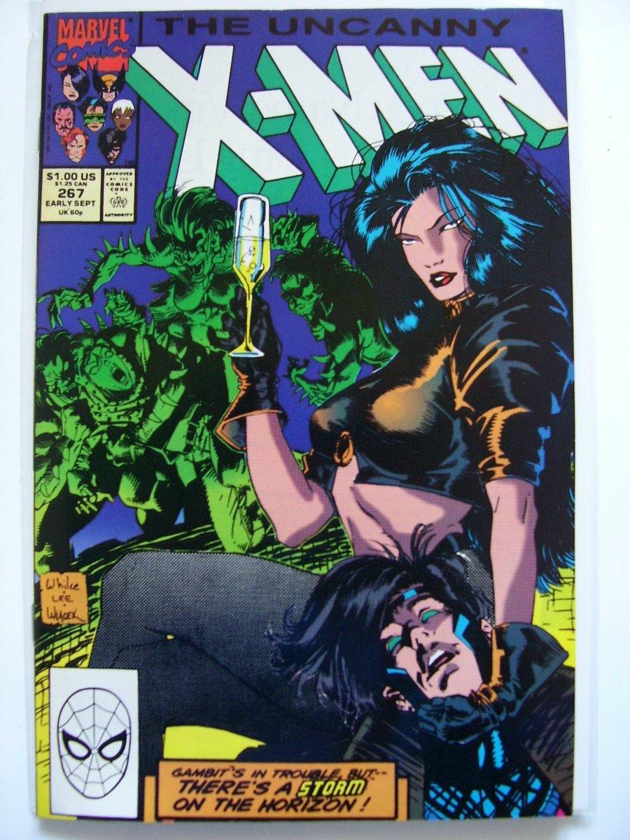 Uncanny X-men #267 2nd Full appearance of Gambit/Gambit #1,3,4,X-men#1,Gz#3