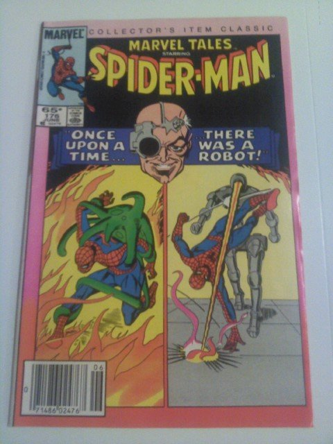 Marvel Tales Spider-Man #176 Reprint by Legendary Stan Lee/Steve Ditko