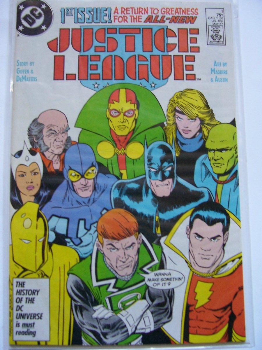 Justice League#1,#3 International #10 1stf Green Lantern Gnort#24 1st JLEurope