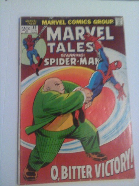 Kingpin Vs Daredevil #300 VS spiderman Marvel Tales #43,#64-Gwen #66 byStan Lee
