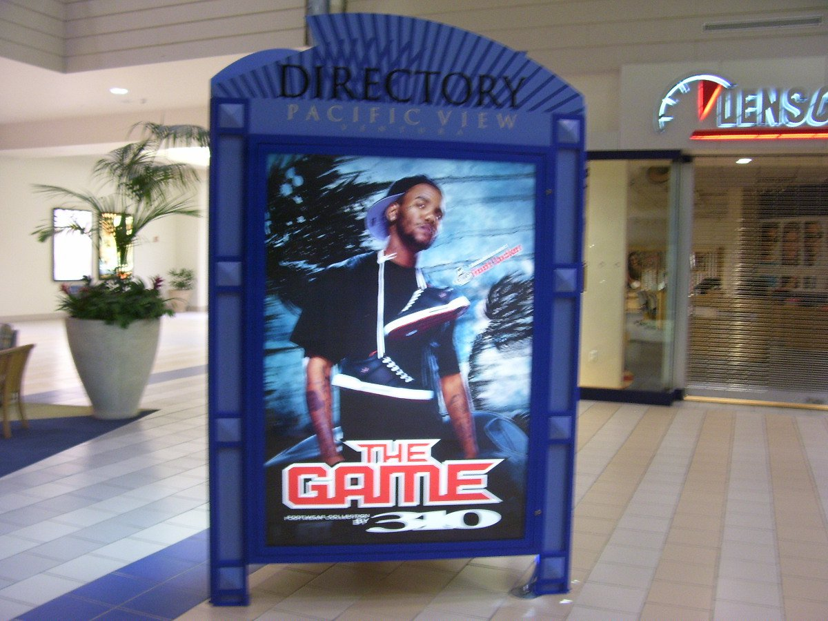 The Game Original Poster Approx. 48 X 69