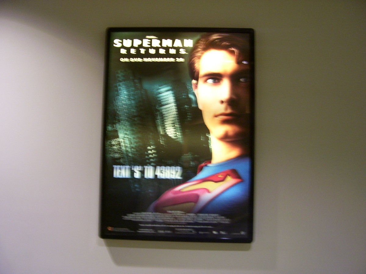 Superman Returns Original Movie Poster Approx. 48 X 69