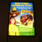 Curious George Original DVD Movie Poster Approx. 4 feet by 5 feet 9 inches