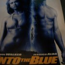 Paul Walker & Jessical Alba Into The Blue Original Movie Poster 4 ft X 5ft 9in