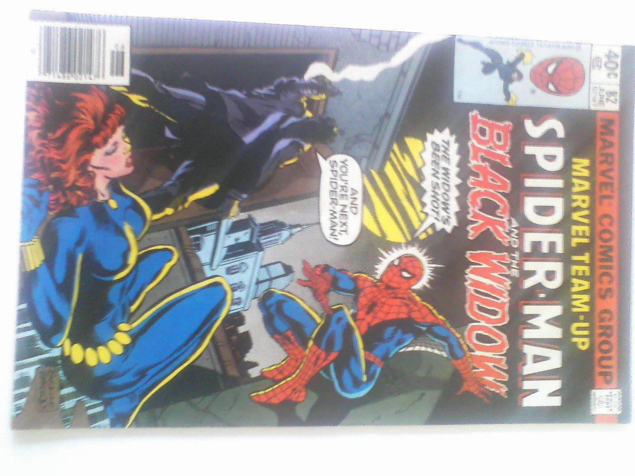 Marvel Team-Up #82, Spider-man/ The Black Widow Shot by Nick Fury #98