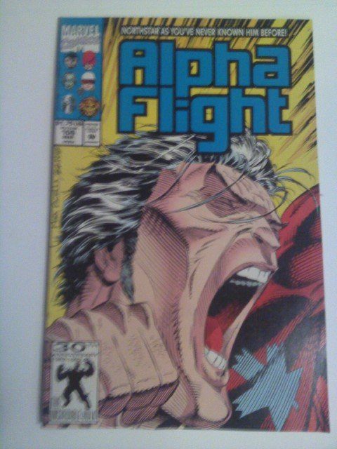 Alpha Flight #106 2nd print Northstar admits his gay/Giant-size X-men #3