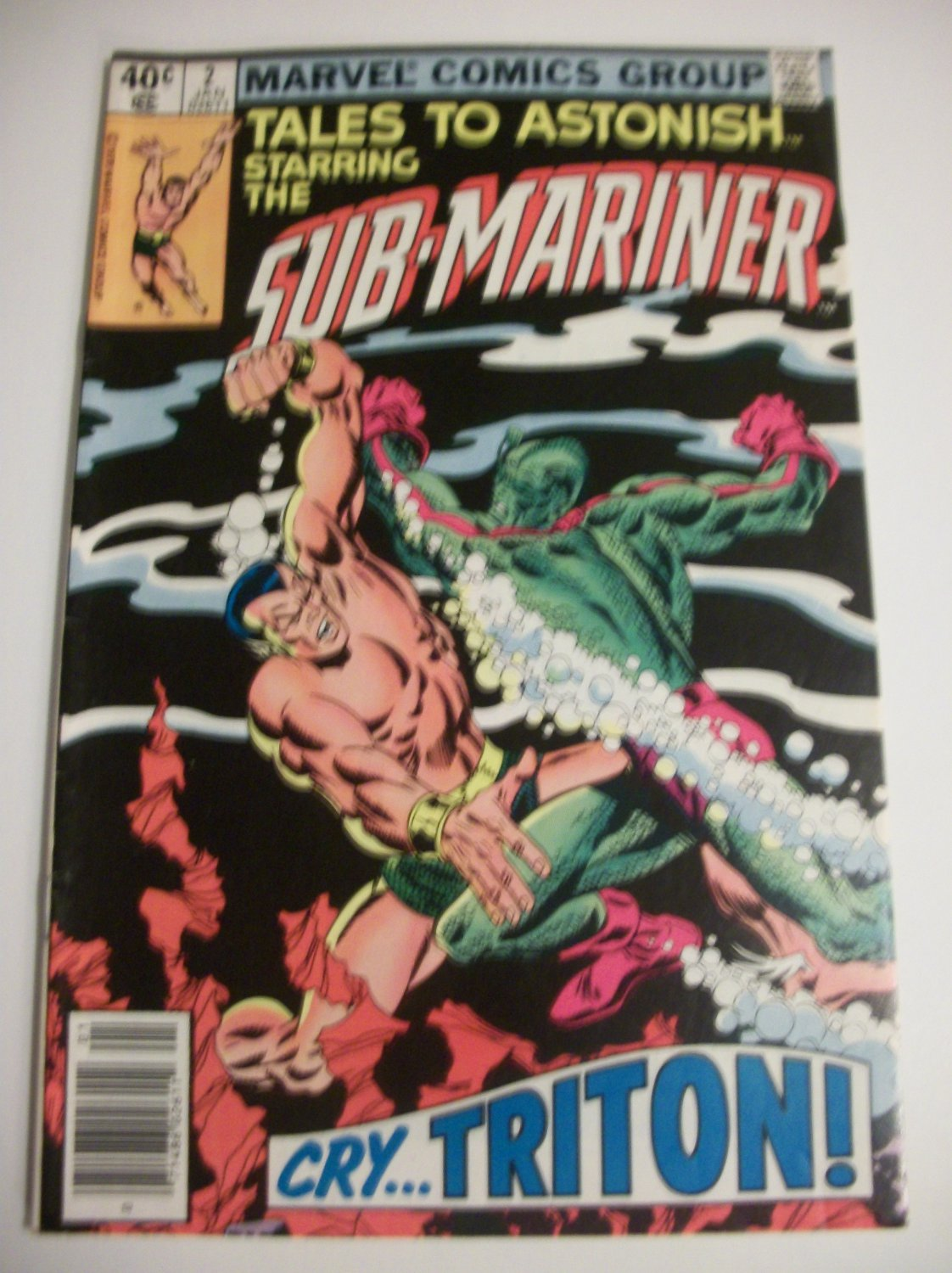 Tales to Astonish The Sub-mariner #2 Cry..Triton!