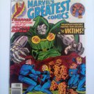 Marvel's Greatest Comics FF #68#70 Stan Lee/Jack Kirby Victims, Vs Doom, Moleman