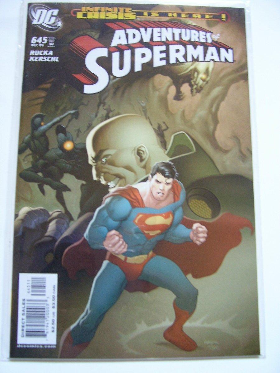 Adventures of Superman #645 Infinite Crisis tie-in