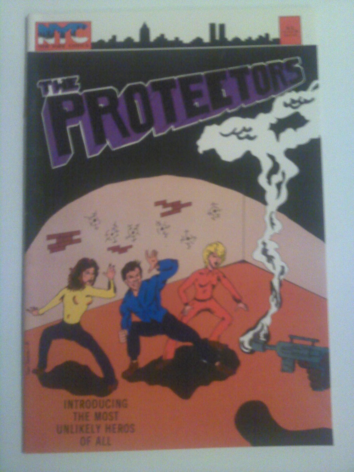 The Protectors #1 1980 NYC Comics Introducing the most Unlikely Heroes of All