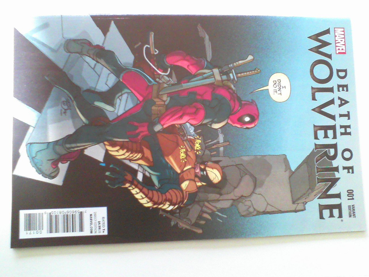 Death of Wolverine Deadpool Variant #18, X-force 1 ,X-force 2,X-force 11, X-force 15,X-force 23