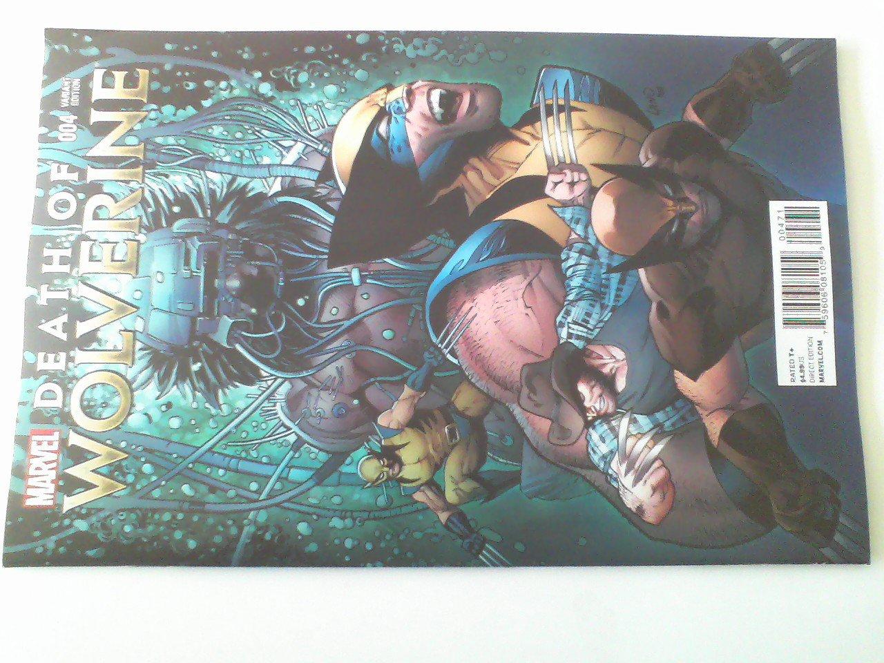 Death of Wolverine #1,#3.#4
