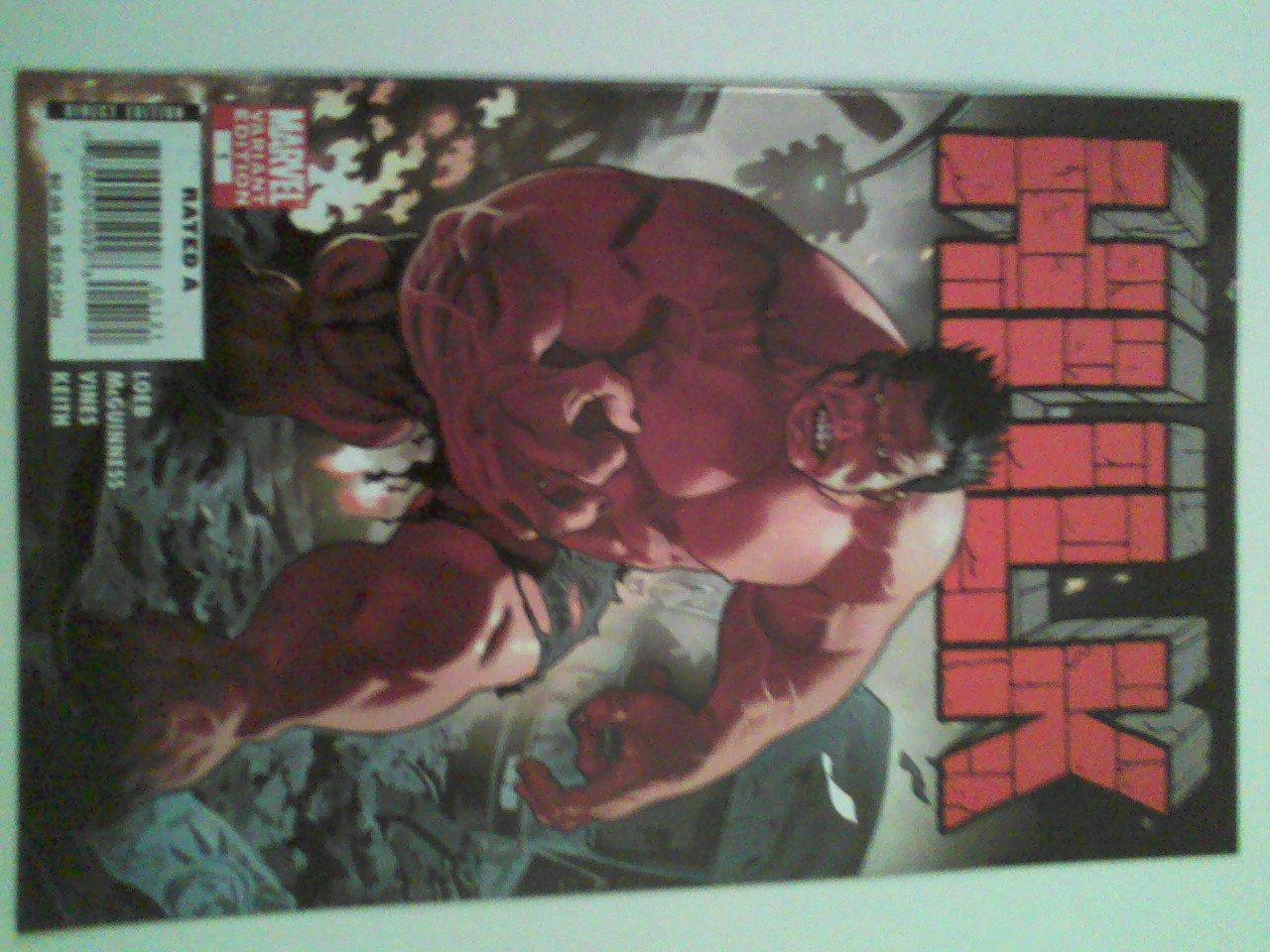 Hulk Vol 2 #1 Incentive Cover 1st cameo Red hulk