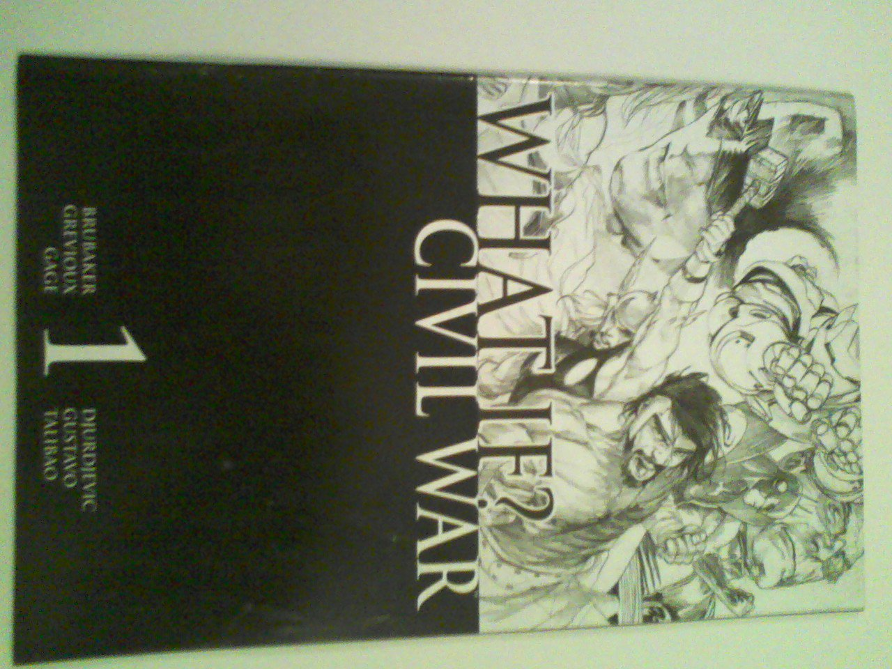What If Civil War Wraparound Incentive Marko Djurdjevic Sketch House of M #1-4