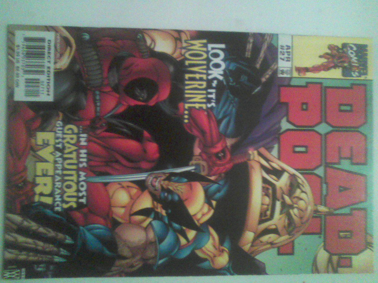 13 Deadpool lot . Guess Hulk,cable,Bullseye,taskmaster,wolverine,sirys,domino
