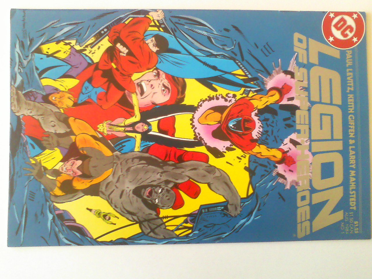 Legion of Super-heroes #1 Paul Levitz/Keith Giffen