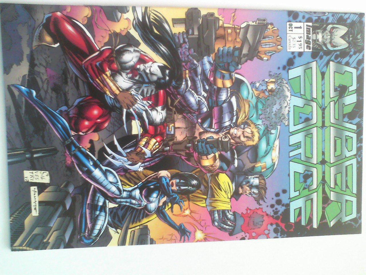 Cyberforce #0-4 1st appearance of Cyberforce