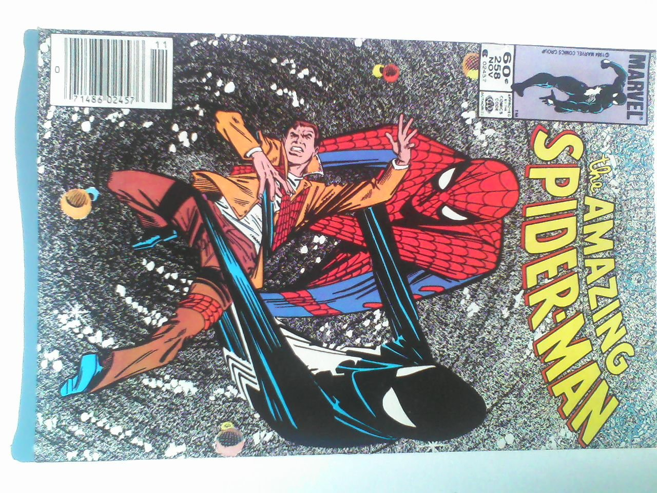 Amazing Spider-Man #258 The Sinister Secret Of Spider-Man�s New Costume!