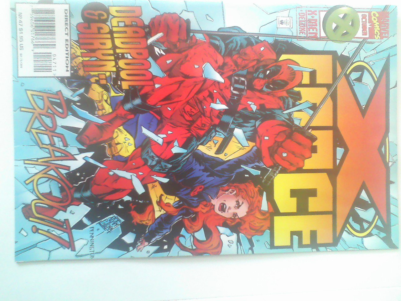 X-force #47 w/card