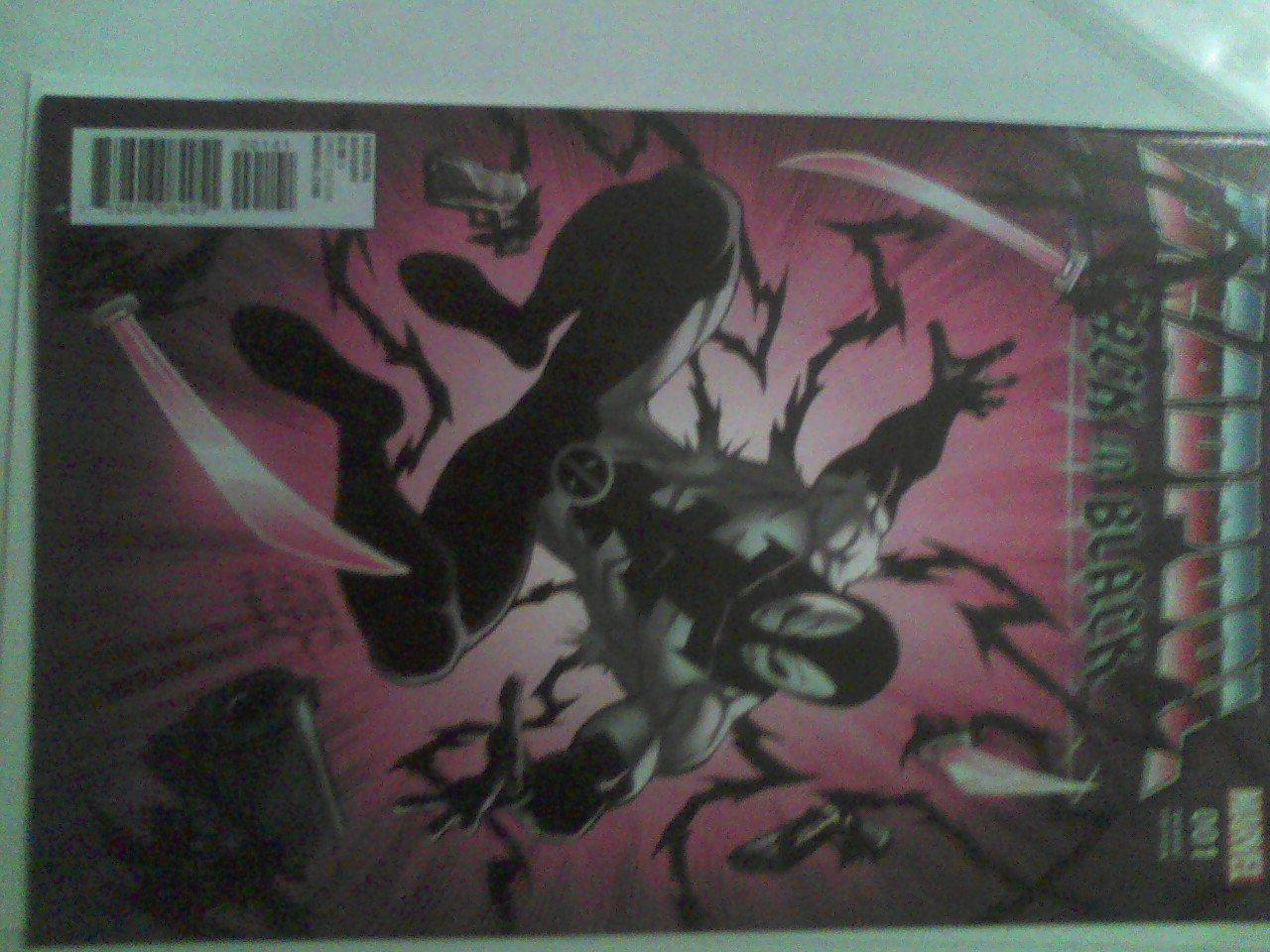 Deadpool back in black #1 variant cover