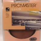 NEW! PROMASTER 62mm FL-D FILTER - ***FREE SHIPPING!*** Brand New Sealed Package!