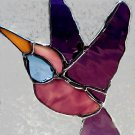 Hummingbird Stained Glass