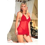 Mesh Lace Baby Doll