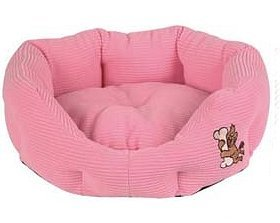 Pink Pooch Bed