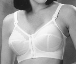 Style # 204 : Crepeset front closure soft cup Bra