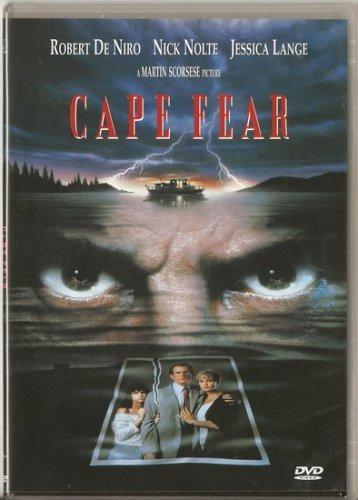 CAPE FEAR Robert De Niro, Nick Nolte, Jessica Lange R2 PAL
