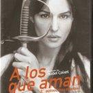 A LOS QUE AMAN Monica Bellucci, Julio Nunez, Moreno R0 PAL no English dvd